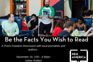 Be the Facts You Wish to Read event graphic