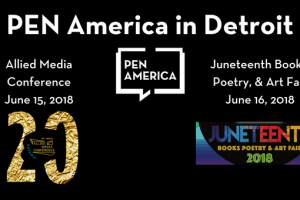 PEN America in Detroit event graphic