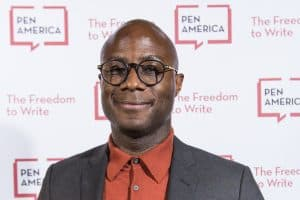 Barry Jenkins with PEN America Screenplay Excellence Award