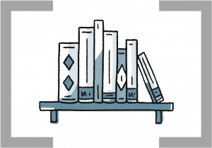 icon of a shelf of books