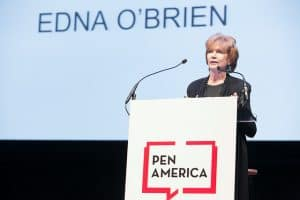 Edna O'Brien at the 2018 Literary Awards Ceremony