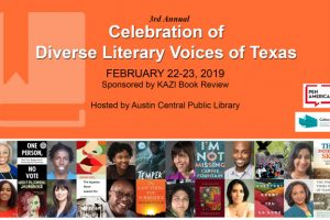 Celebration Of Diverse Literary Voices Of Texas event flyer