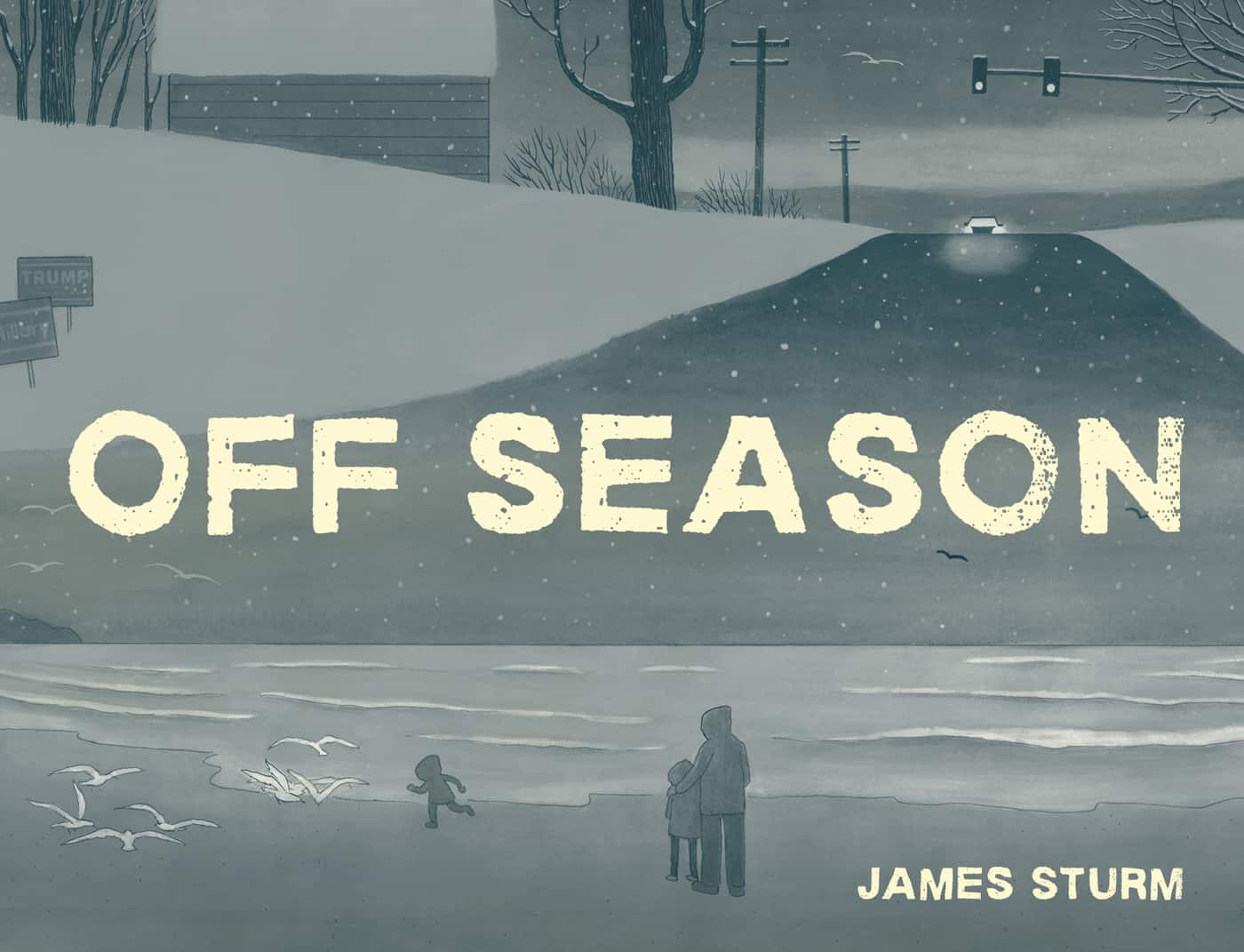 title panel from Off Season by James Sturm