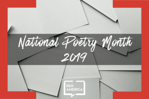National Poetry Month 2019 Image