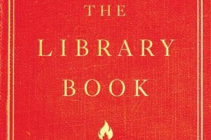 book cover for The Library Book by Susan Orlean