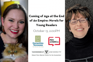 Humanities Tennessee 2019 Coming Of Age At The End Of An Empire Novels For Young Readers Event Icon