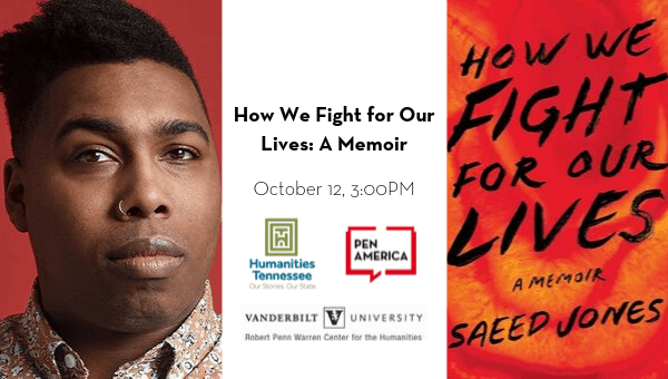 Southern Festival of Books 2019 How We Fight For Our Lives A Memoir event page