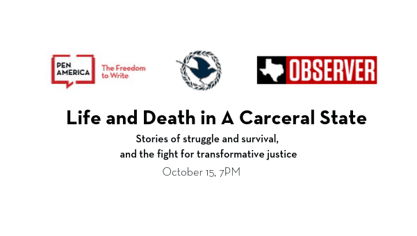 Life And Death In A Carceral State event image