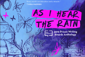 As I Hear The Rain 2019 Prison Writing Anthology Cover Featured Image