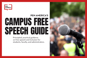 Campus Free Speech Guide