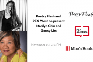 Poetry Flash and PEN West co-present Marilyn Chin and Genny Lim event image