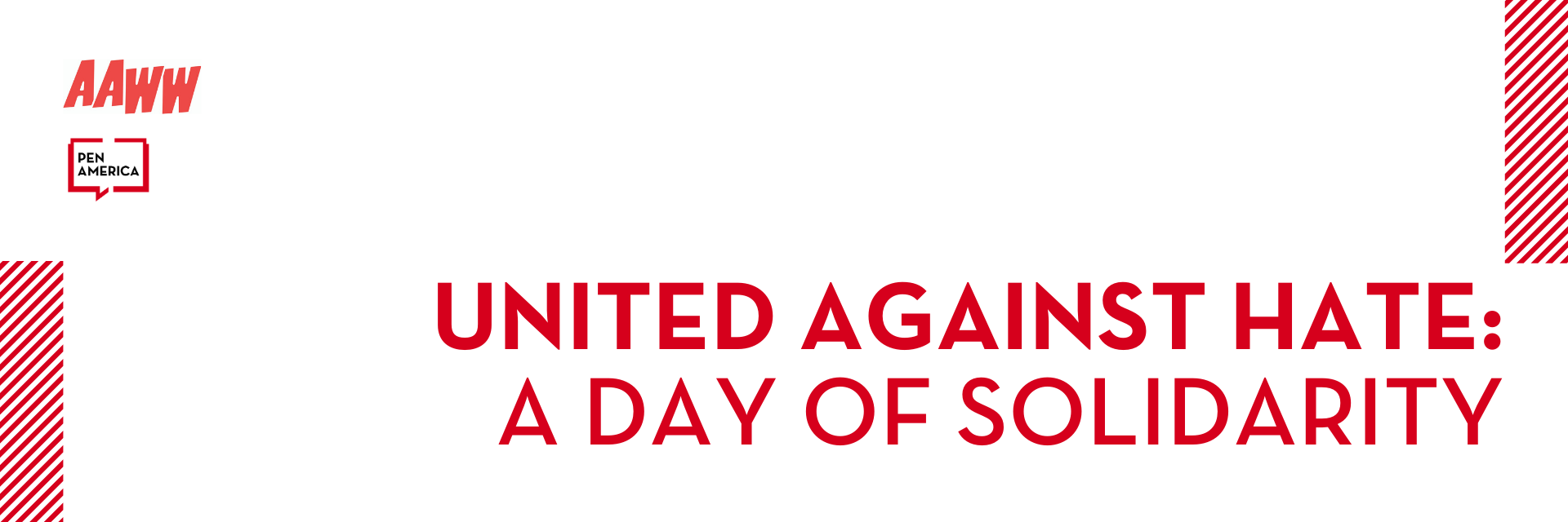 United Against Hate: A Day of Solidarity