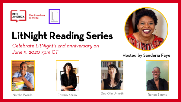 Image of LitNight Virtual Reading Event Information