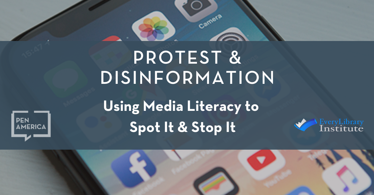 Protests and Disinformation banner