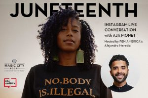 Juneteenth Instagram Live Conversation with Aja Monet