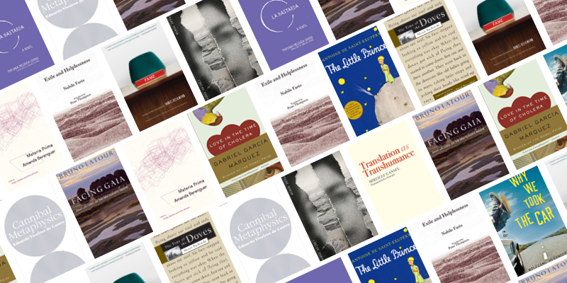 Translations for Our Moment: A Reading List from the PEN Translation Committee - Book Covers