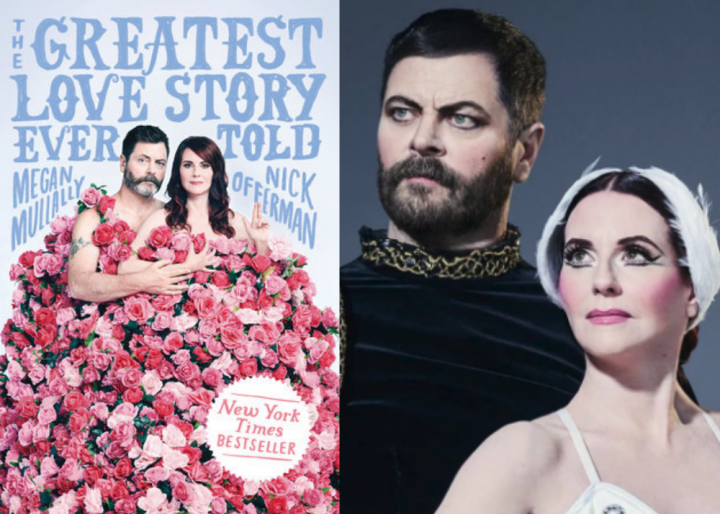 Virtual Authors' Evening with Nick Offerman & Megan Mullally - photo by Emily Shur