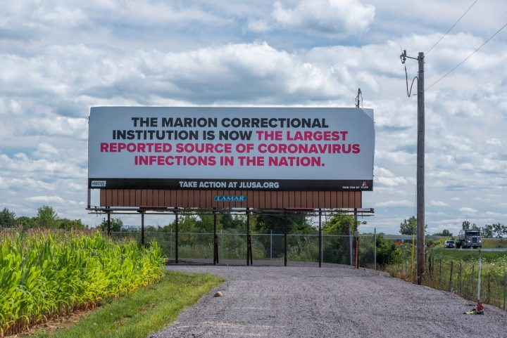 The Marion Correctional Institution is now the largest reported source of Coronavirus infections in the nation.