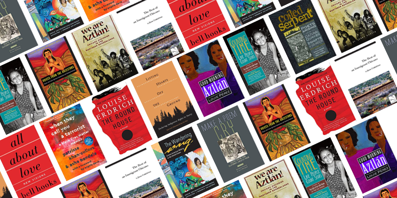 A Latinx Heritage Month Reading List book covers