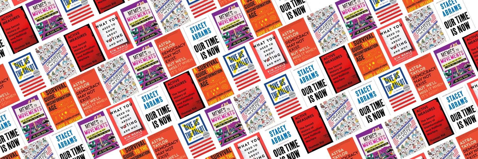 What To Expect When You're Electing: A Reading List book covers